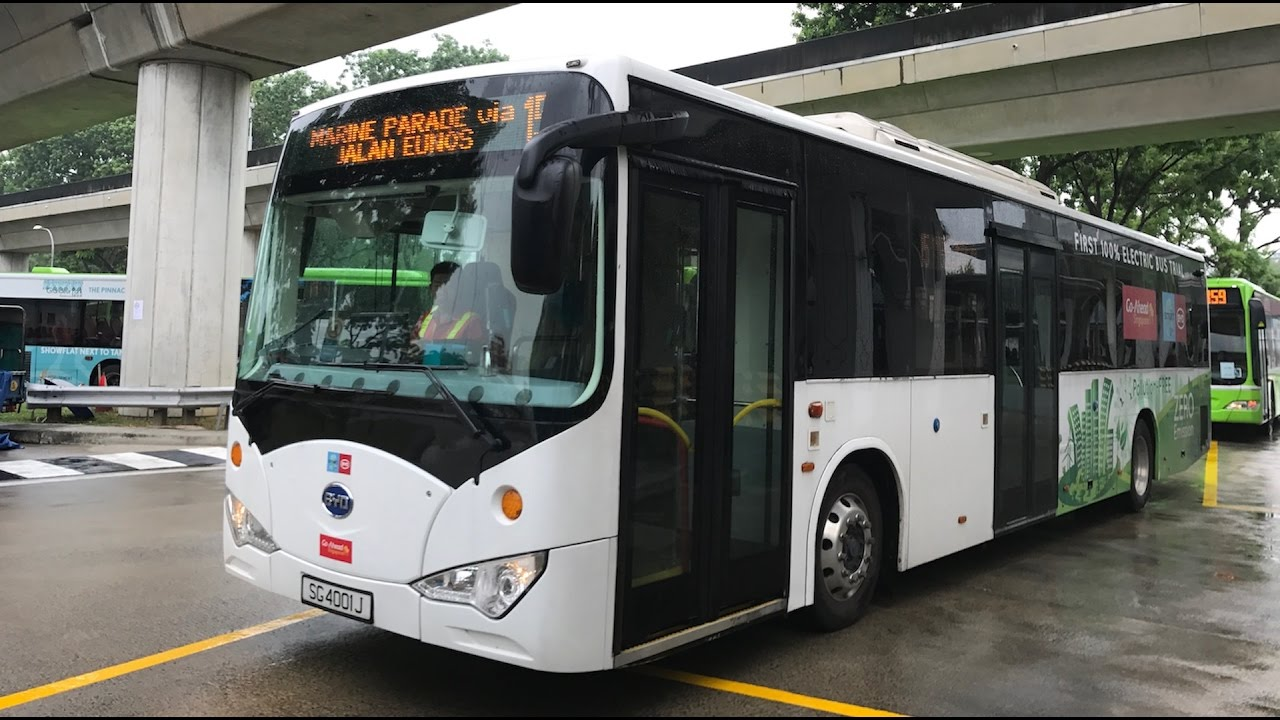 Go-Ahead BYD K9 (SG4001J) on S...
