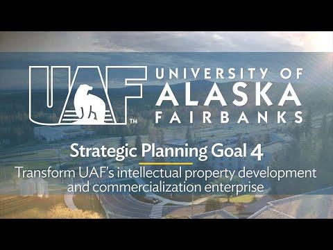 Download Trailer - Goal 4: Transform UAF's intellectual property development and commercialization enterprise