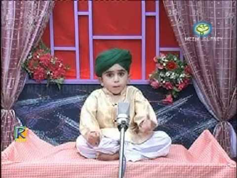 Haider Ali, Madani Munna Naat Khwah Sawal Jawab - YouTube.FLV