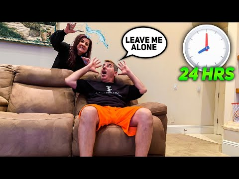 ANNOYING MY HUSBAND FOR 24 HOURS & THEN SURPRISING HIM WITH THIS...
