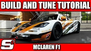 Forza 5 I Build and Tuning Tutorial I Mclaren F1 I S Class