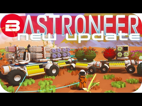 Get Astroneer Gameplay - NEW UPDATE: THE TRUCK CHAIN!!! Lets Play Astroneer Experimental Snapshots