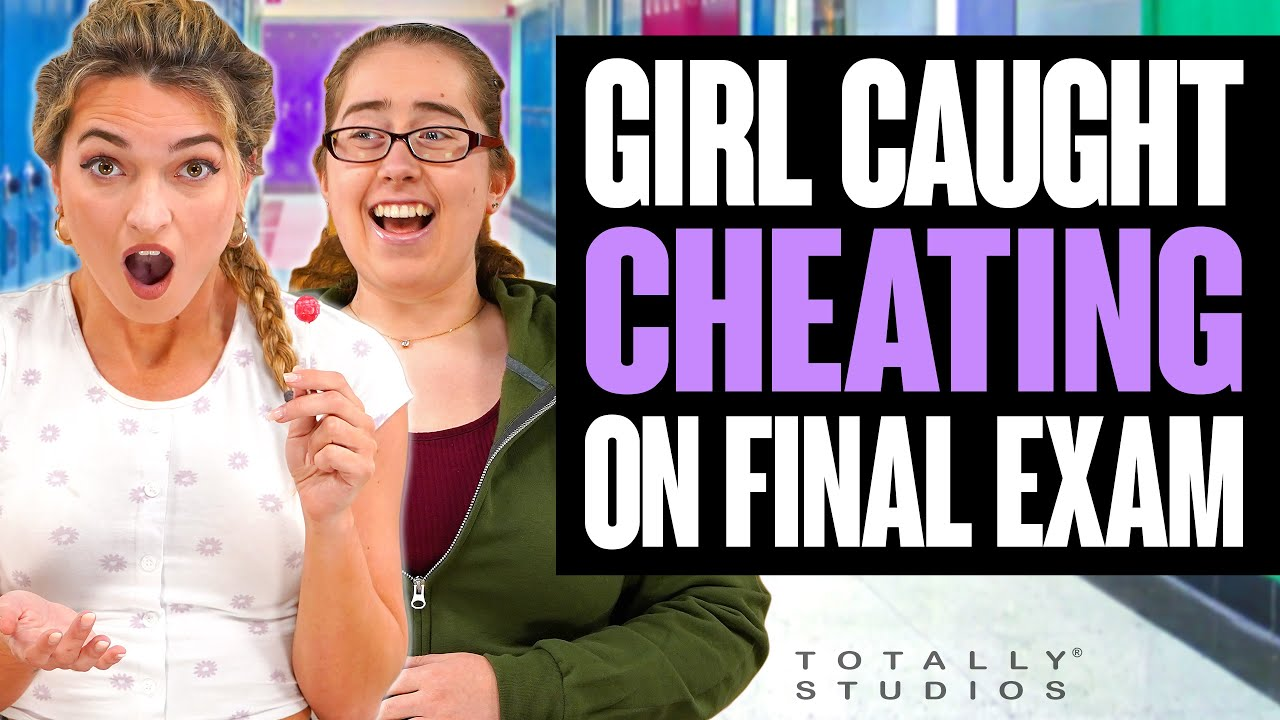 Download Student CAUGHT CHEATING on Final EXAM. The Ending is Shocking. Totally Studios.