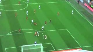 Andy Carroll's first goal for England