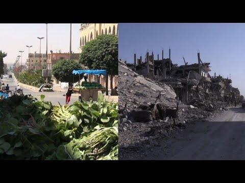 En ruines, Raqa face à l
