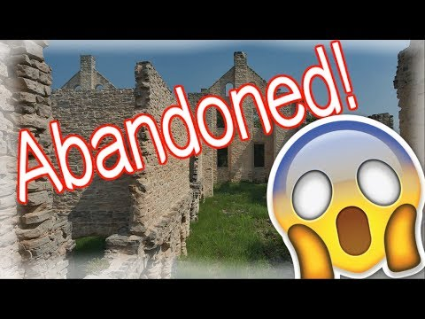 EXPLORING AN ABANDONED CASTLE IN MISSOURI- FAMILY VACATION LAKE OF THE OZARKS- FAMILY VACATION 2017!