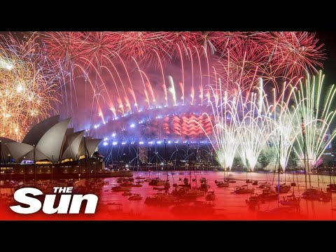 Australia welcomes 2020 with firework celebrations on Sydney Harbour