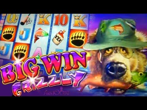 Grizzly Bonus BIG WIN - 1c  Aristocrat Video Slots