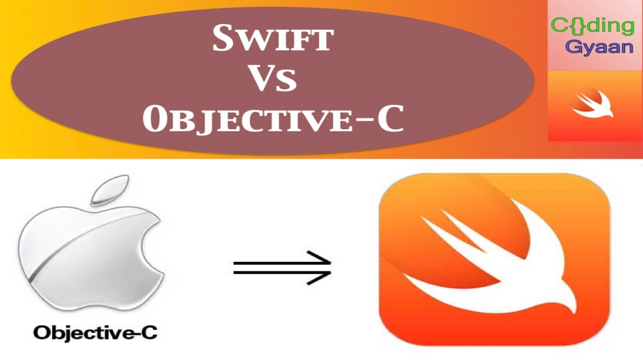 What is Swift Language ? Difference between Swift and Objective-C ?