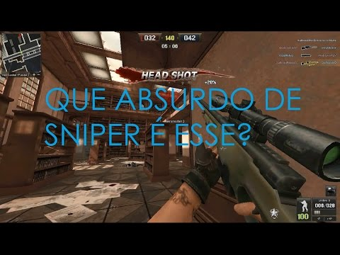 Point Blank - UP, hacker's e Sniper FDP!