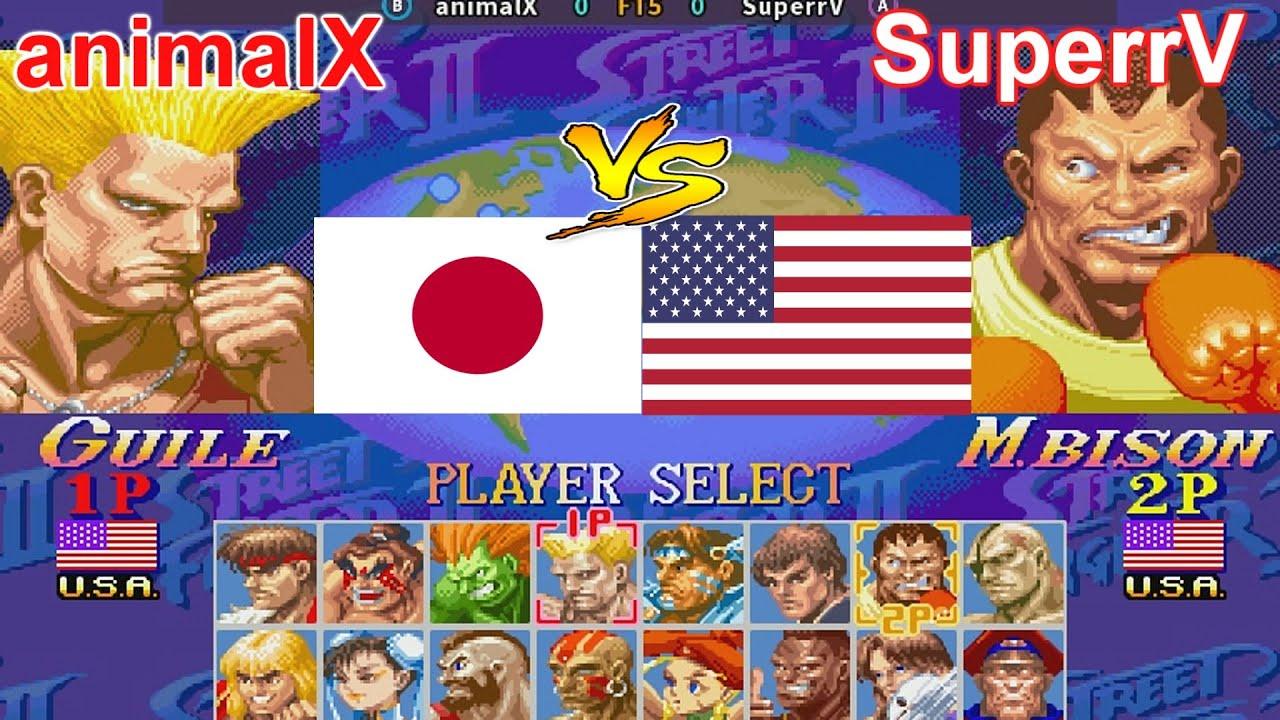 Super Street Fighter II X: Grand Master Challenge - animalX vs SuperrV FT5