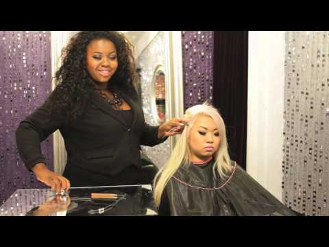 How to Put in EZ Weft Hair : Hair Extensions