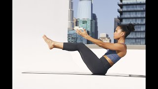 Day 8: 30-Minute Full-Body Barre Workout With Sweat Trainer Britany Williams