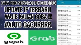 CARA PING SERVER GOJEK DAN GRAB || UPDATE IP TERBARU PINGTOOLSPRO GOJEK GRAB GACOR