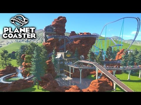 EPIC CUSTOM LOG FLUME! - PLANET COASTER #9