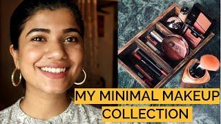 MY SMALL & MINIMAL MAKEUP COLLECTION | INIDAN SKIN TONE |Riya Thomas|