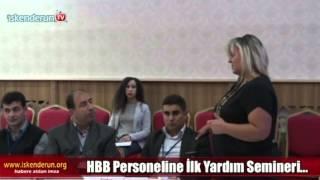 HBB Personeline İlk Yardım Eğitimi…
