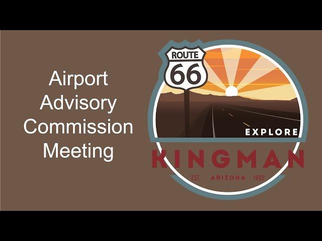 Airport Advisory Commission 02/22/2021