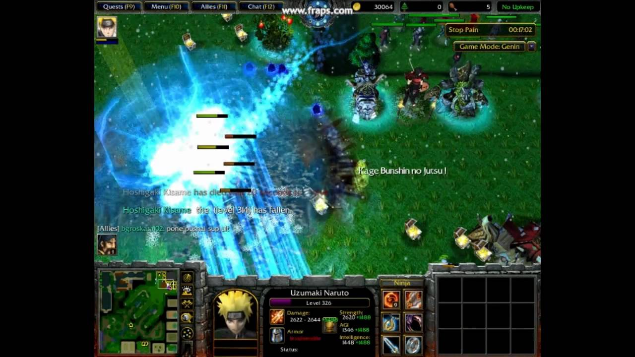 Warcraft 3 naruto ultimate konoha defense youtube gumiabroncs Choice Image