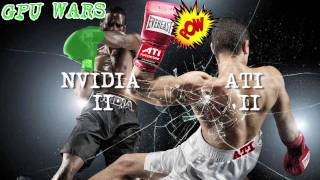 GPU WARS! NVIDIA GTX 480 vs ATI RADEON HD 5870! 5 Round Graphics Card Battle!! :D