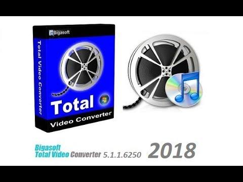Bigasoft Total Video Converter 5.1.1.6250 + Keygen(FULL) 2018 Ultima Version
