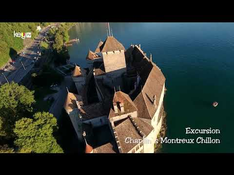Charlie Chaplin, Montreux, Chillon, Lavaux Winter tour - Video