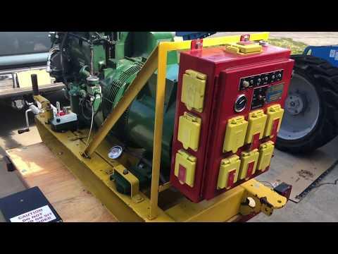 Lister-Petter 12HP SR2 Diesel 8.5k Generator Restore