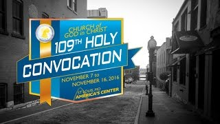 COGIC Holy Convocation Past Preachers! Countdown to the 2016 109th Convocation!