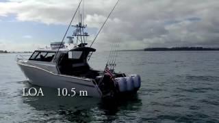 NZBoatShow.TV White Pointer 1050 with triple Honda 250's