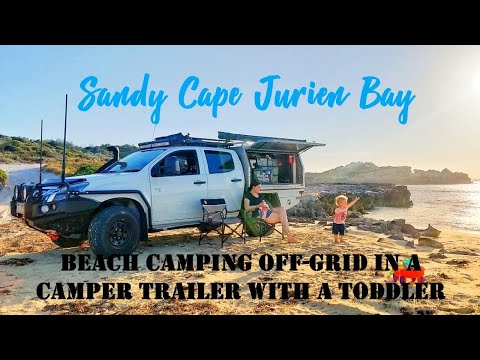 Sandy Cape, Jurien Bay | Beachside Off-Grid Camping With A Camper Trailer
