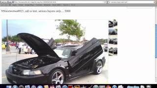 Craigslist Brownsville Texas - Older Models Used Cars and Trucks for Sale by Owner