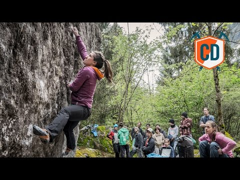 Rain, Crimps, And Boulders: Melloblocco Day One   Climbing Daily Ep. 930