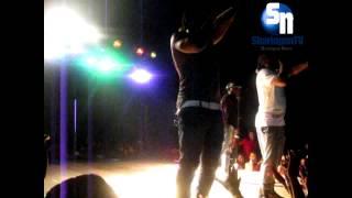 Os 3 cantando o Toque em Cabinda