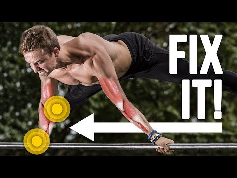 How to fix Wrist & Elbow Pain from Handstand, Planche and other Calisthenics Exercises [fullHD]