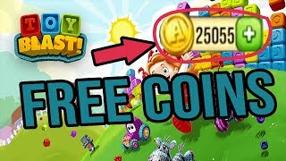 Toy Blast Free Coins - How to get UNLIMITED FREE COINS 2018 (Android & iOs)