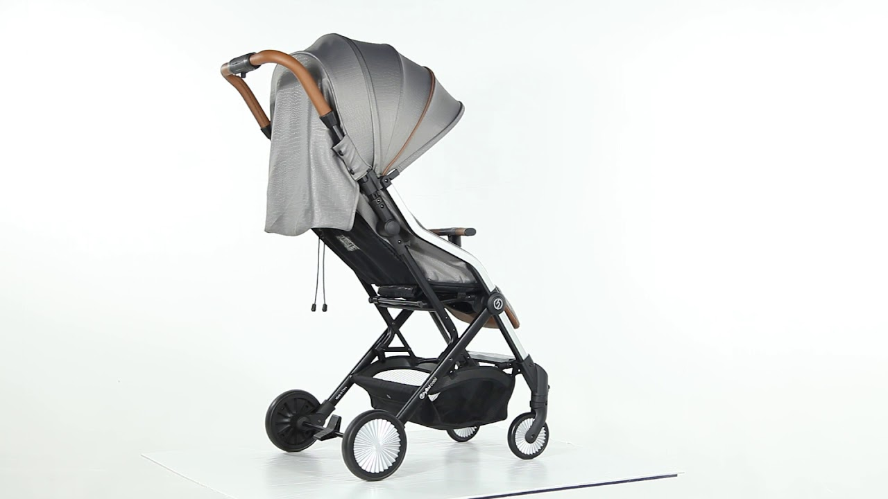 BabyStyle Hybrid Cabi Lightweight Stroller Suitable From Birth Silver