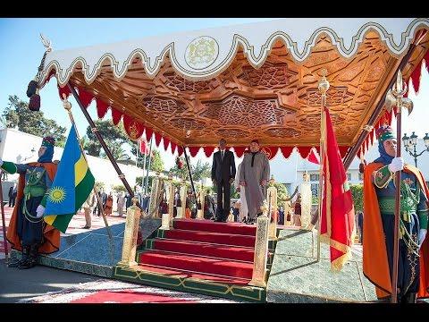 President of Rwanda H.E Paul Kagame visit to the Kingdom of Morocco.
