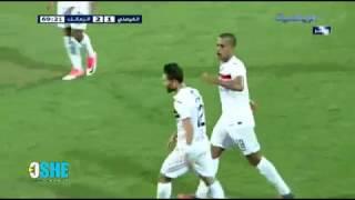 كابوريا يسجل أول أهدافه بقميص الزمالك .. هدف رائع في الفيصلي الاردني