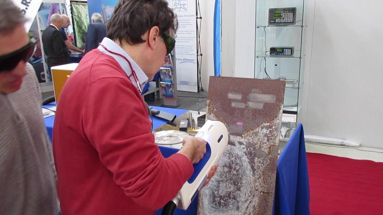 Pulizia al laser delle superfici metalliche laser cleaning for Oscar utensili