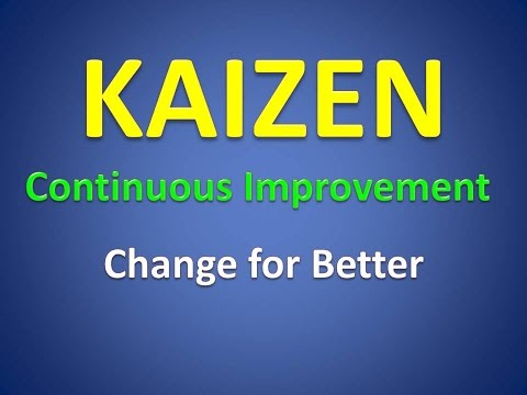 Kaizen with Day to day life example