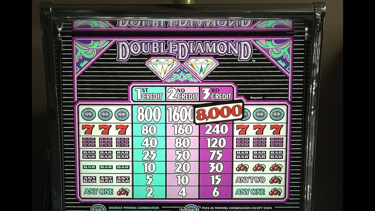 double diamond deluxe slot machine manual