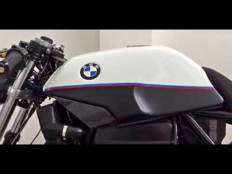 BMW K100   Cafe Racer pin striping