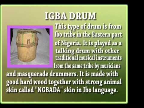 Igbo Traditional Music and Musical Instruments - Culture