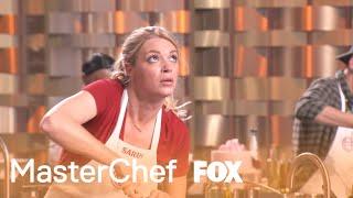 Sarah Is Running Behind On Time | Season 10 Ep. 14 | MASTERCHEF