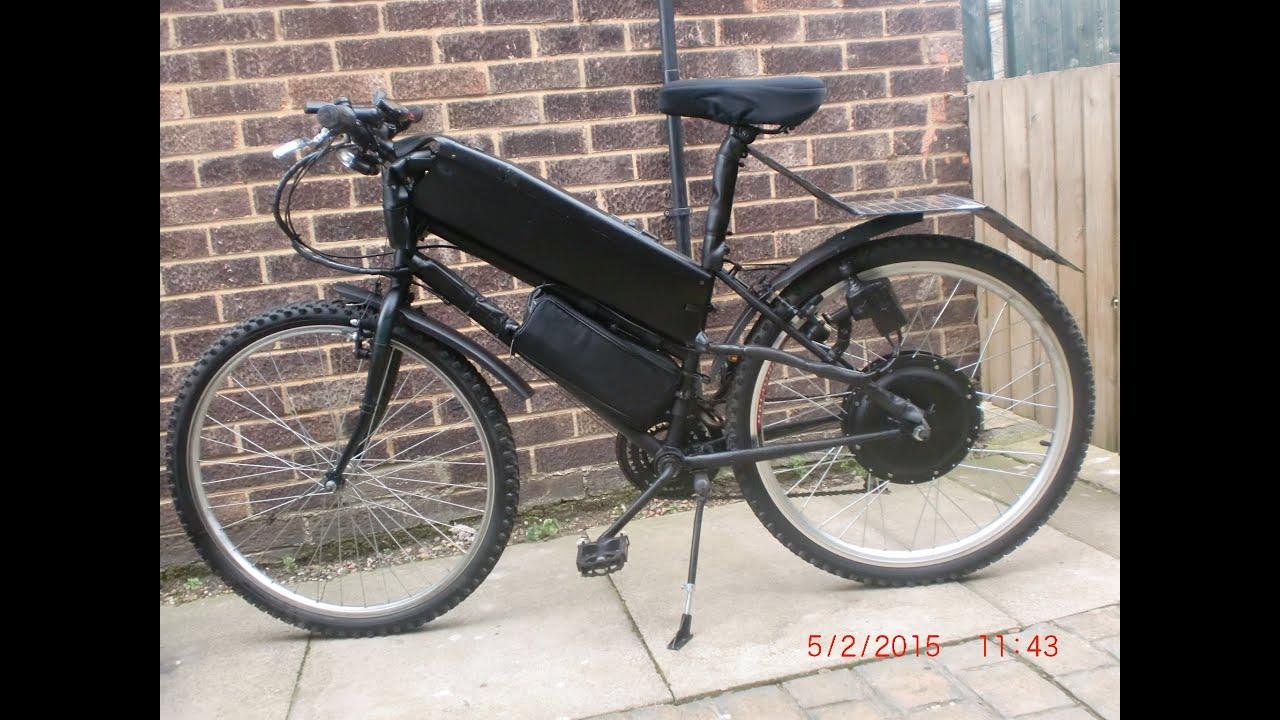 The Dynamo Self Charging Electric Bike