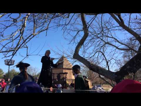 Grand Illumination Auction in Colonial Williamsburg