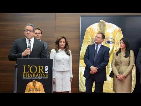 L'OR DES PHARAONS A MONACO 2018 - Sorties Media Presse - ©  Brigitte Lachaud