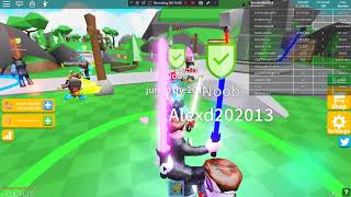 Roblox Saber Simulator | Unlocking Warlord Class! + How to afk grind on PC