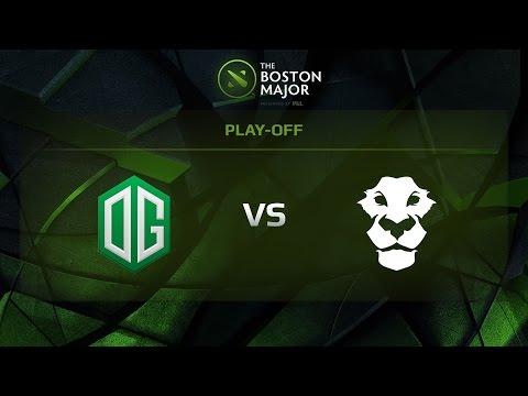 OG vs AD Finem, Game 1, Grand Final - The Boston Major