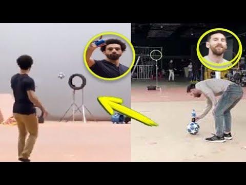 Muhammed Salah, Messi'ye Pepsi Reklamında Meydan Okudu ve Onu Küçük Gösterdi